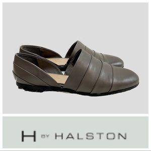 NWOT H by Halston Womens Elisa Slip On Flat Shoes